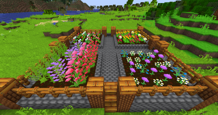 Flowers - No shaders