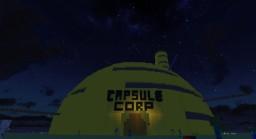 Dragon Ball Super - Future Capsule Corporation Minecraft Map & Project