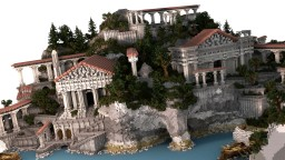 Greek plot build Minecraft Project