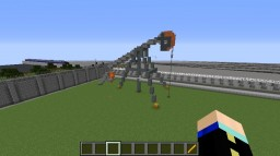 My first attempt to make a oil well Minecraft Map & Project