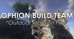 Outdoor Mansion Minecraft Project