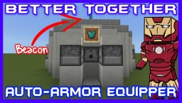 4-Way Iron Man Auto Armor Equipper Tutorial Minecraft Project