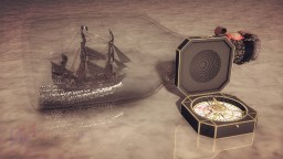 Pirates of the Caribbean Scene__Black Pearl and the Compass Minecraft