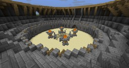 Medieval (PvP) Arena Minecraft Map & Project