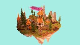 Kjaken Lobby // Medieval themed Minecraft Map & Project