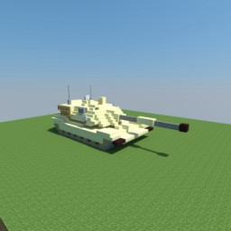 M1A2 Abrams Minecraft Project