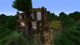 My First Medivial Hous Minecraft Map & Project