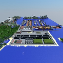 Naval Base XE [Download] Minecraft Project
