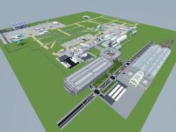 Flughafen Airport (under renovation) Minecraft