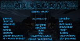 MineCrax Twisted Towny Minecraft