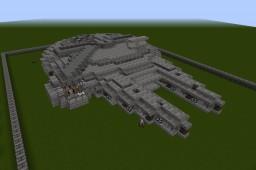 Millennium falcon Star Wars Last Jedi Minecraft
