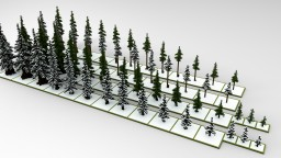 Pine Pack +Snowy Trees Minecraft Project