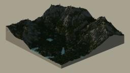 Υυmmγ' - Mountains with Forest and Lakes - 1k*1k Minecraft