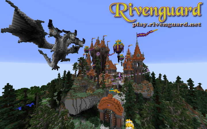 Rivenguard, an enhanced survival experience. Come start your adventure today  play.rivenguard.net. For more information visit us  www.rivenguard.net.