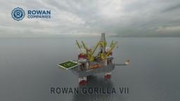 ROWAN GORILLA VII. [Scale 1:1] Minecraft Map & Project
