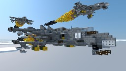 """RX - 75 MKIV """"Wasp"""" (Fighter - Bomber Air/SSTO) Ultra - Heavy Class Minecraft Project"""