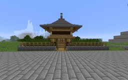 Tang Style Small Courtyard 唐式小院 Minecraft Map & Project