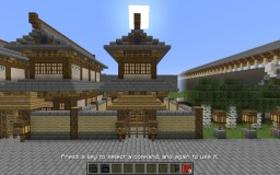 Tang Style Storage House 大唐粮仓 Minecraft Map & Project