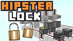 HIPSTER COMBINATION LOCK! Minecraft Blog Post