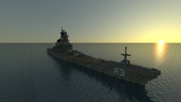 USS Missouri [BB-63] 1:1 Scale Minecraft Map & Project