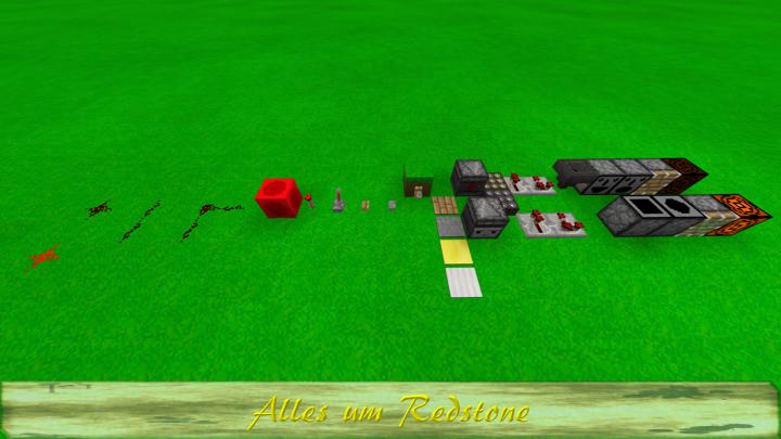 Alles um Redstone