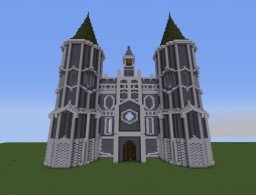 Kardia Cathedral - Fairytail anime Minecraft Map & Project
