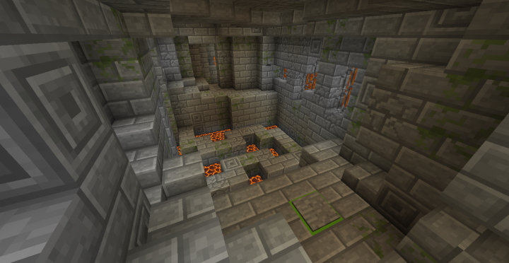 Oh... and the magma. It's more dangerous than lava.