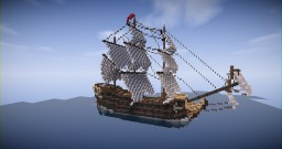 18th Century - Ship (Updated) Minecraft Map & Project