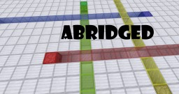 Abridged: A Short Two Player Puzzle Map Minecraft Map & Project
