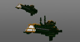Warhammer 40,000 : Battlefleet gothic - imperial navy basic painting Minecraft Map & Project