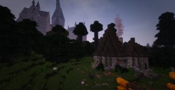 Hagrid's Hut (Harry Potter/Hogwarts) Minecraft Map & Project