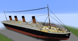 2:1 Scale RMS Titanic. update #3. over 900,000 blocks! Minecraft Map & Project