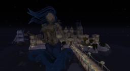 WIP Amphitrite organic & castle Minecraft Project
