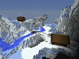 Winter village Minecraft Project