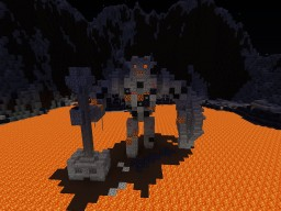 Magma giant Minecraft Project