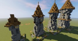 Medieval Towers Minecraft