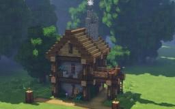 Medieval Merchant's Home Minecraft