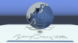 PyeongChang 2018 Winter Olympic Globe (made out of snow) Minecraft Project