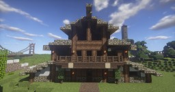 Holiday House ( Schematic Only ) Minecraft Map & Project
