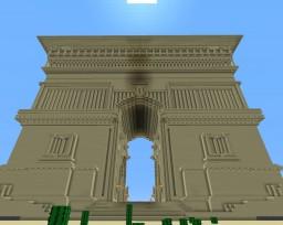 BIG GATE ANCIENT EGYPT/GRAND PORTAIL EGYPTE ANCIENNE FR/EN Minecraft