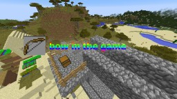 Bow In the game! Minecraft Map & Project