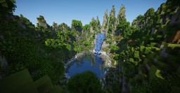 Waterfall Minecraft
