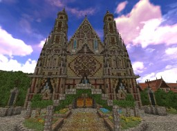 Aldecia Cathedral Minecraft Map & Project
