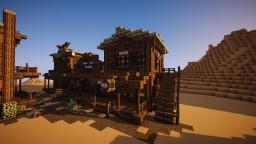 Wild Western Bank Minecraft Project