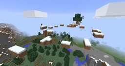 Natural (impossible) PARKOUR MAP Minecraft Project