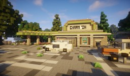 Drive-in ( Charming USA ) Minecraft Map & Project