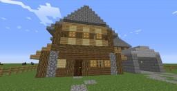 A big Suburban House Minecraft Project