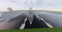 USS Carter Hall LSD-50 1:1 scale Minecraft Project