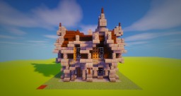 [Bundle Gothic House] House 1 Minecraft Map & Project