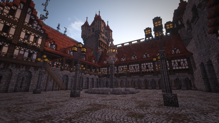 The Guild Hall in Celephais
